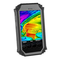 #ThermaPad #FLIR thermal imaging tablet with touch screen interface and real time thermal analysis software.