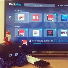 Et si vous mettiez sous le sapin le dernier #CubeS de #CanalPlus avec Radioline en bonus ? #Noel #IdeeCadeau #Application #TV