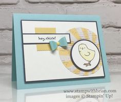 Little Cuties, Hey Chick, Stampin' Up!, Brian King, FabFri105