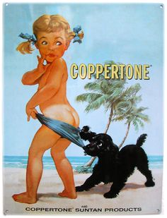 Little known fact: About 1965, Jodie Foster made her acting debut as the Coppertone girl in a television commercial, when she was three years old.