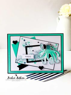 Sunday Stamping Blog Hop - Sea of Textures