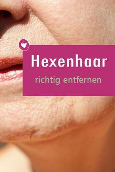 Wie sollte ich ein Hexenhaar wirklich entfernen? Zwei Dermatologinnen klären auf. #gesichtshaare #haut #haarentfernung #gesicht #beauty #schönheit