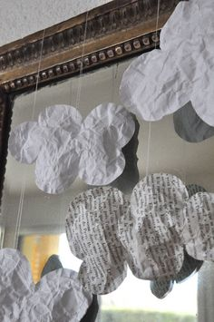 Nuages en papier
