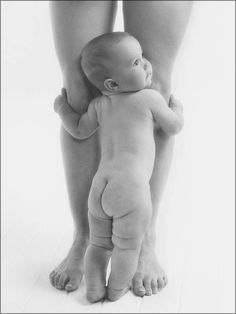 Awww! I want a picture of Madden like this! Especially with all his little chub rolls!