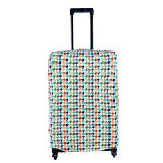 L Size Colorful Swallow gird Travel Luggage Suitcase Trolley Case Protective Cover Fits 2630 Inch Luggage >>> Read more reviews of the product by visiting the link on the image.Note:It is affiliate link to Amazon.