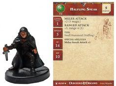 Halfling Sneak #19 Underdark D&D Miniatures DDM