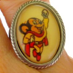 Your place to buy and sell all things handmade Mighty Mouse, Richie Rich, Best Engagement Rings, Smile, Band, Metal, Vintage, Sash, Metals