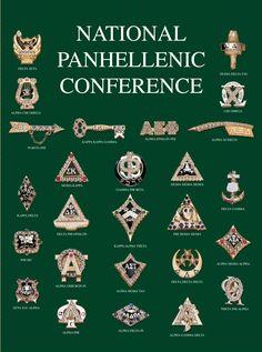 The badges of all 26 NPC member organizations.