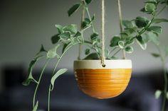 Keramische opknoping Planter  moderne hangende door FunctionPottery