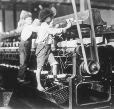 working conditions for children during industrial Industrialisation led to a dramatic increase in child labour in industrial areas, children started work on average at eight and a half years old it triggered a series of parliamentary enquiries into the working conditions of children in mines and factories.
