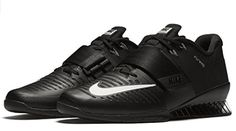 The Ultimate Guide to Lifting Shoes - BarBend Nike Sneakers, All Black Sneakers, Black Shoes, Men's Shoes, Baskets, Weight Lifting Shoes, Nike Store, Cross Training Shoes, Gym Gear