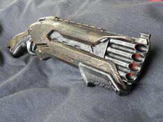 rough cut Nerf Mod, Steampunk Weapons, Rough Cut, Apocalypse, Hand Guns, Nerd, Paint, Inspiration, Biblical Inspiration