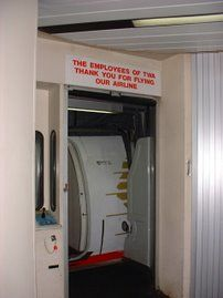 Thanks For Flying TWA! Jet Bridge Sign - Trans World Airlines