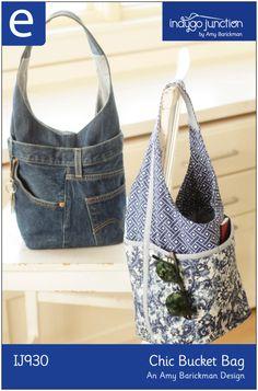 Chic Bucket Bag pdf pattern $11.99