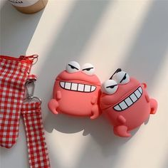 New Design for you Mobile Accessories, Cell Phone Accessories, Crab Cartoon, Android Phone Wallpaper, Shipping Packaging, Earphone Case, Air Pods, Airpod Case, In Ear Headphones