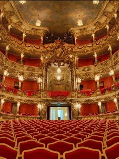 Cuvilliés-Theater (former court theatre of the Residenz), Munich, Germany
