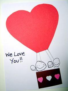valentine heart air balloon