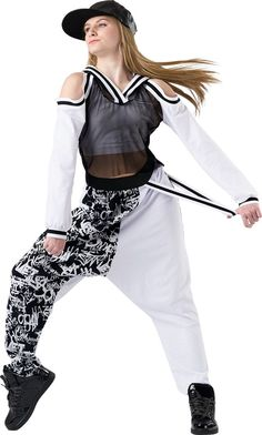 b5e0e2a49 New Fashion Women Hip Hop Dance Costume Performance Wear Jazz Sports ...