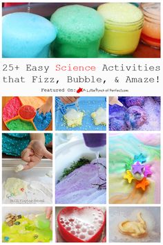 25+ Easy Science Activities that Fizz, Bubble, & Amaze! (Love to Learn Linky #30) | A Little Pinch of Perfect