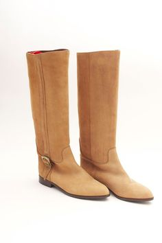 Vintage NINE WEST Leather Equestrian Style Boots by VintageCommon, $104.99