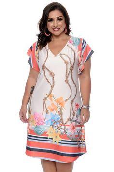 Vestido Plus Size Renatta Source by plus size vestidos Vestidos Plus Size, Plus Size Gowns, Plus Size Outfits, Elegant Dresses, Casual Dresses, Short Dresses, Fashion Dresses, Plus Size Formal, Plus Size Casual