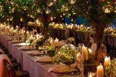 We brought the magic of the Irish forest to the table with these beautiful table settings.