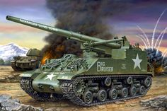 M-40 GMC Long Tom