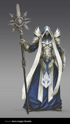 Haven - 04 Cleric 1 140 × 2 025 pixels Fantasy Male, Fantasy Armor, Medieval Fantasy, Dark Fantasy, Fantasy Character Design, Character Concept, Character Art, Concept Art, Fantasy Inspiration