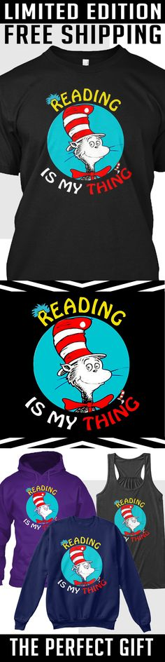Reading is my Thing - Limited Edition. Only 2 days left for free shipping, get it now!