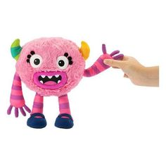 Musical Plush Toy Momonsters Haha Bandai (25 cm)