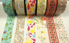 Washi Tape Set  Japanese Washi Tape  Masking Tape  Deco by mieryaw, $16.80