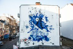 """""""Shoes are boring. Wear Sneakers"""": Converse bekennt Farbe mit Streetart-Kampagne"""