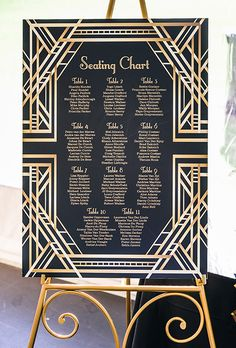 Brides.com: 22 Great Ways to Display Your Escort Cards & Seating Charts