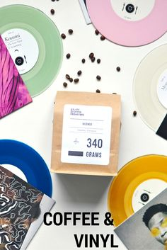 The one and only subscription service to pair fresh-roasted coffee + vinyl records from some of the best artists in indie music.