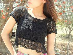 Pia Só Estilo Denédja Melo Moda, Street Style, tendência, Blog de Moda, top cropped, saia, skirt, renda guipir, guipir, trança, hair