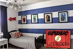 superhero bedroom - Google Search