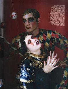 'Russian Dolls', Karlie Kloss photographed by Tim Walker for British Vogue October 2010.