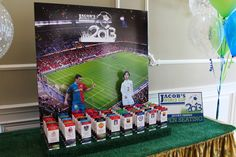Soccer Stadium Place Card Display