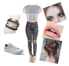 """""""#sparkle"""" by queen-sanja on Polyvore featuring Related and Converse"""