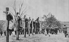 Austro-Hungarian soldiers executing Serb civilians during World War I occupation, Mačva, Lest we forget. Wilhelm Ii, Kaiser Wilhelm, World War One, First World, Photos Du, Old Photos, Austro Hungarian, Lest We Forget, Serbian