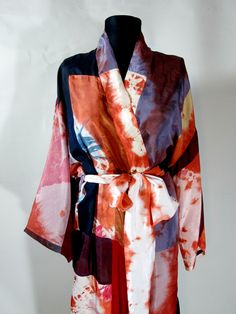 Patchwork silk robe that is tye dyed available in my Bonanza Shop Img_3843