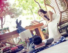 pre-wedding photo, pre-wedding photo shoot in Korea, Korea wedding photo, M&C studio