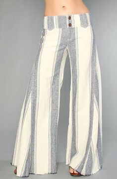 20da9a1e56 Love this: The Extreme Linen Flare Pant @Lyst Linen Pants, Flare Pants,