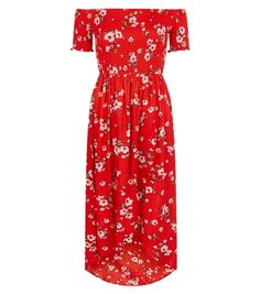 Robe rouge, New Look, 39,99 €.