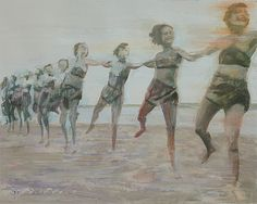 antonimus:  Antonio LeeOil and acrylic on canvas. 40cm x 50cm