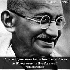 Mahatma Gandhi Pilger des Friedens