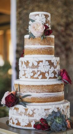 Perfect Wedding, Fall Wedding, Rustic Wedding, Our Wedding, Dream Wedding, Wedding Cake Designs, Wedding Cakes, Wedding Goals, Wedding Planning