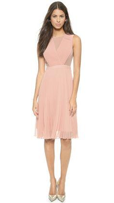 BCBGMAXAZRIA Deborah Pleated Dress