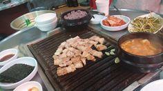 釜山(韓国)噛むたびに肉汁のおいしさがほとばしる!