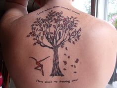 Dreaming Tree Firedancer tattoo